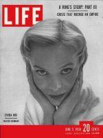 Life Magazine, June 5, 1950 - Actress Stasia Kos