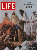 Life Magazine, June 5, 1964 - Nehru's funeral