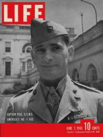 Life Magazine, June 7, 1943 - Marine ace Joe Foss