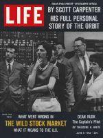 Life Magazine, June 8, 1962 - Stock Market jolt
