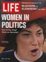Life Magazine, June 9, 1972 - Congresswoman Bella Abzug