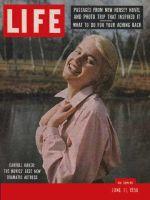 Life Magazine, June 11, 1956 - Carroll Baker