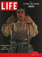 Life Magazine, June 13, 1955 - Judaism