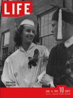 Life Magazine, June 14, 1943 - High school graduation