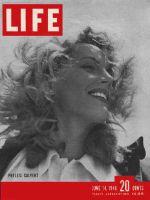 Life Magazine, June 14, 1948 - Phyllis Calvert