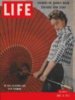 Life Magazine, June 14, 1954 - California look, fashion