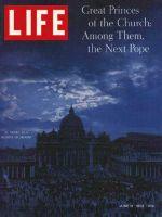 Life Magazine, June 14, 1963 - Cardinals convene at St. Peter's