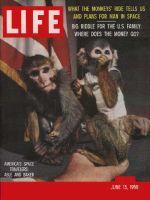Life Magazine, June 15, 1959 - Able and Baker, monkeys