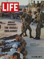 Life Magazine, June 16, 1967 - Israeli troops take prisoners in Gaza