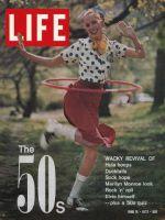 Life Magazine, June 16, 1972 - Girl with Hula Hoop