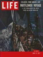 Life Magazine, June 17, 1957 - Modern pilgramage