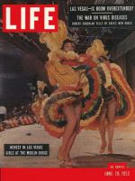 Life Magazine, June 20, 1955 - Booming Las Vegas