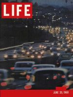 Life Magazine, June 20, 1960 - Los Angeles freeway