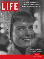 Life Magazine, June 21, 1954 - Las Vegas chorus girl