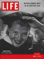Life Magazine, June 22, 1953 - Graduations