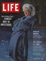 Life Magazine, June 22, 1962 - Marilyn Monroe skinny dips