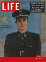 Life Magazine, June 24, 1957 - Prince Juan Carlos