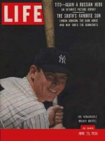 Life Magazine, June 25, 1956 - Mickey Mantle