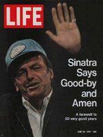 Life Magazine, June 25, 1971 - Frank Sinatra