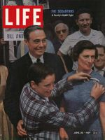 Life Magazine, June 26, 1964 - Governor William Scranton and family