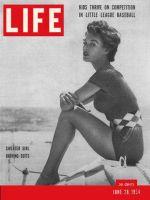 Life Magazine, June 28, 1954 - Sweater swimsuits