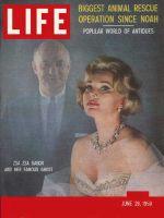 Life Magazine, June 29, 1959 - Zsa Zsa and ghostwriter