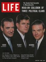 Life Magazine, June 29, 1962 - Senate-seat scramble, Ted Kennedy