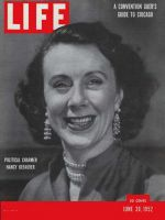 Life Magazine, June 30, 1952 - Nancy Kefauver