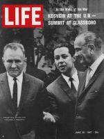 Life Magazine, June 30, 1967 - Aleksei Kosygin and Lyndon Johnson at Glassboro