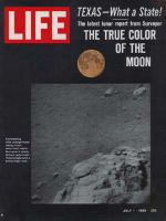 Life Magazine, July 1, 1966 - Moonscape