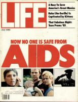 Life Magazine, July 1, 1985 - Aids Crisis