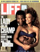 Life Magazine, July 1, 1988 - Mike Tyson And Robin Givens
