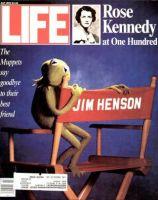 Life Magazine, July 1, 1990 - Kermit Says Goodbye To Jim Henson
