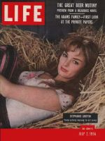 Life Magazine, July 2, 1956 - Stephanie Griffin