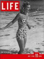 Life Magazine, July 3, 1939 - Swimsuits
