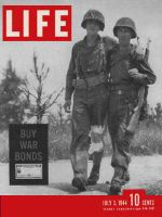 Life Magazine, July 3, 1944 - Back from battle