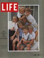 Life Magazine, July 3, 1964 - Robert Kennedy and kids