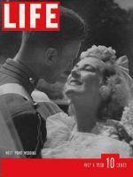 Life Magazine, July 4, 1938 - West Point wedding