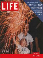 Life Magazine, July 4, 1955 - July Fourth fireworks