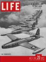 Life Magazine, July 5, 1948 - F-84 Thunderjets