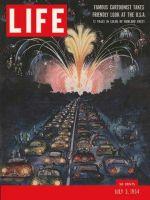 Life Magazine, July 5, 1954 - Cartoonist's U.S.A.