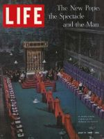 Life Magazine, July 5, 1963 - Ceremony for Paul VI