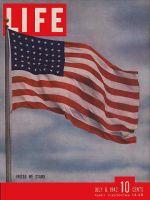 Life Magazine, July 6, 1942 - American Flag