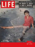 Life Magazine, July 6, 1953 - Terry Moore