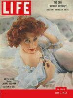 Life Magazine, July 7, 1952 - Arlene Dahl