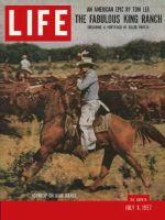 Life Magazine, July 8, 1957 - Texas's King Ranch
