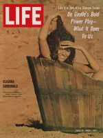 Life Magazine, July 8, 1966 - Actress Claudia Cardinale