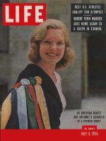 Life Magazine, July 9, 1956 - Diplomat's daughter