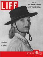 Life Magazine, July 10, 1950 - Actress Miroslava Stern