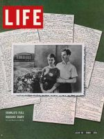 Life Magazine, July 10, 1964 - Lee Harvey Oswald with wife Marina